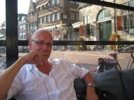 Geert op de markt in Gouda