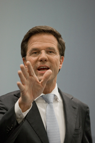 Mark Rutte looking at the Future