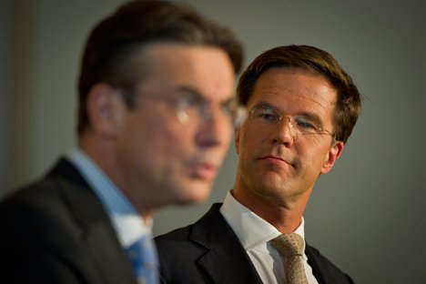 Rutte looking at the past