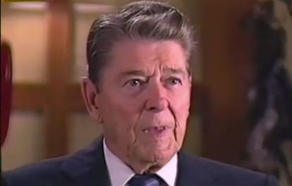 Reagan nu doet u het weer