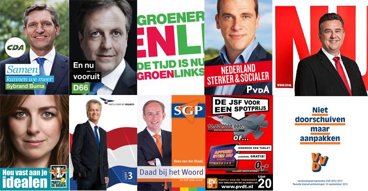 verkiezingsposters 2012