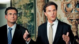 Mark Rutte looking away