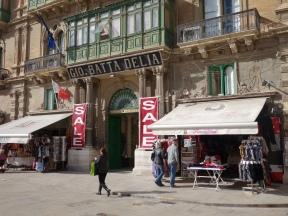 Republic street in Valletta Malta