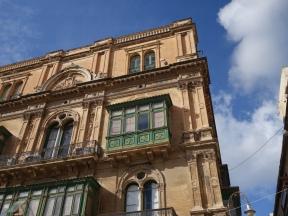 Ancient building in Valletta, Malta