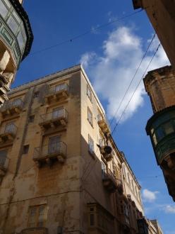 Ancient building in Valletta Malta