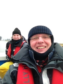 Selfie of Geert sailing - Balk | Witchwithaview