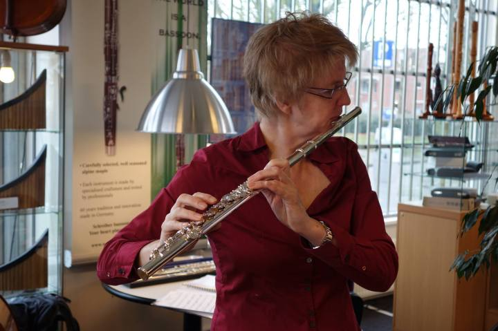 Ine and the Altus flute | witchwithaview