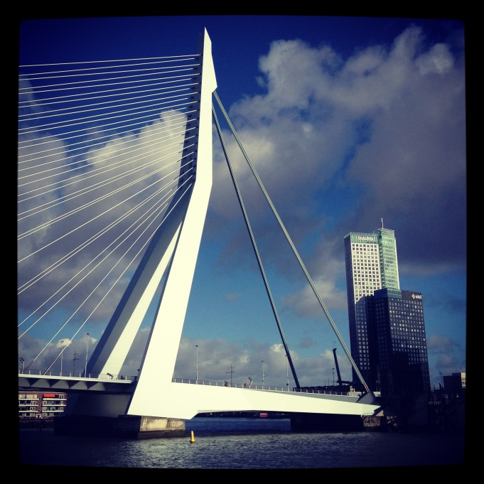 Erasmus Bridge Rotterdam - weekly photo challenge