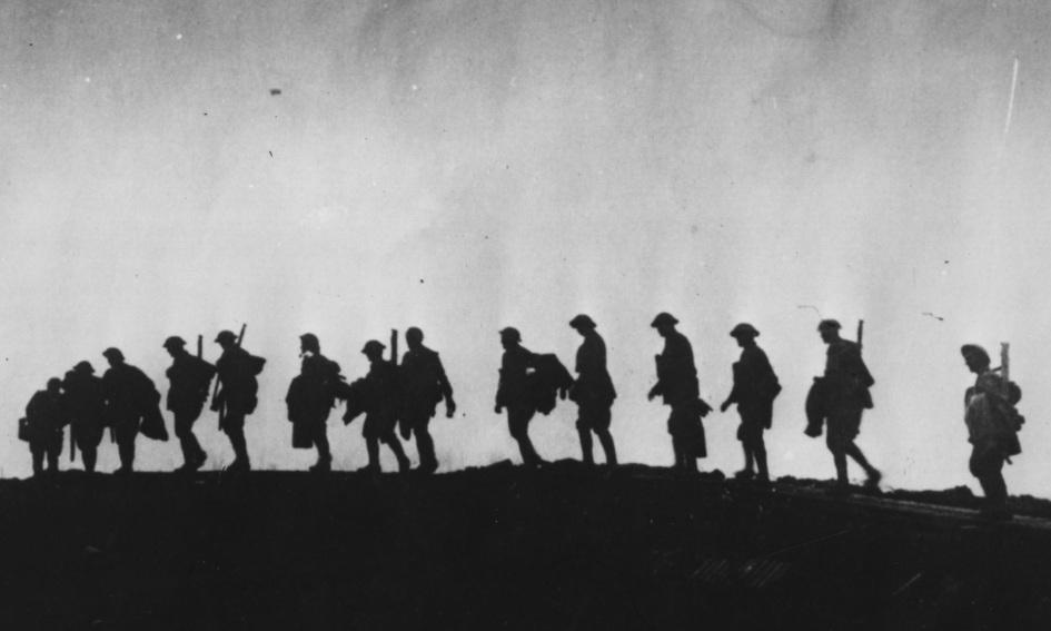 first world war soldiers