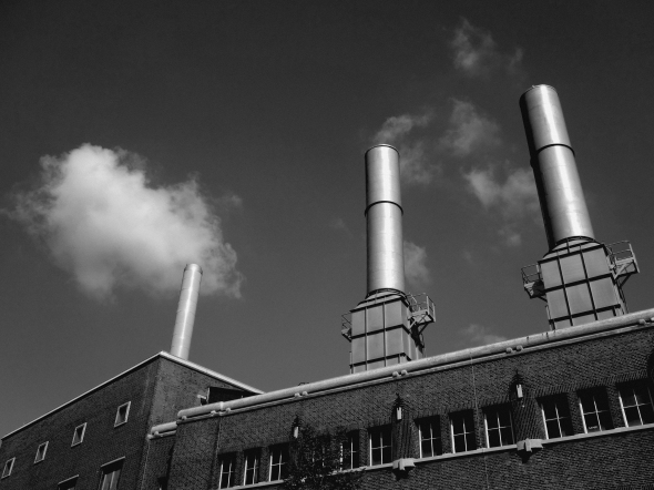 monochrome-tuesday - powerplant