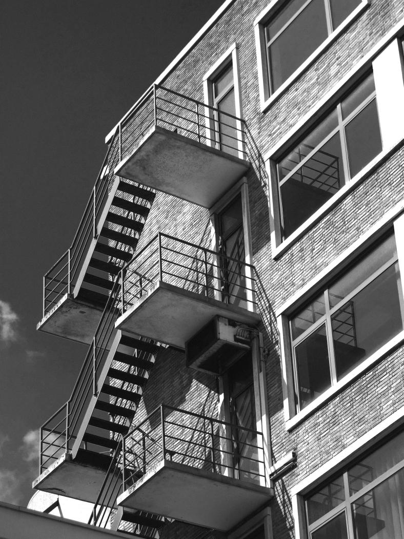 rotterdam stairways