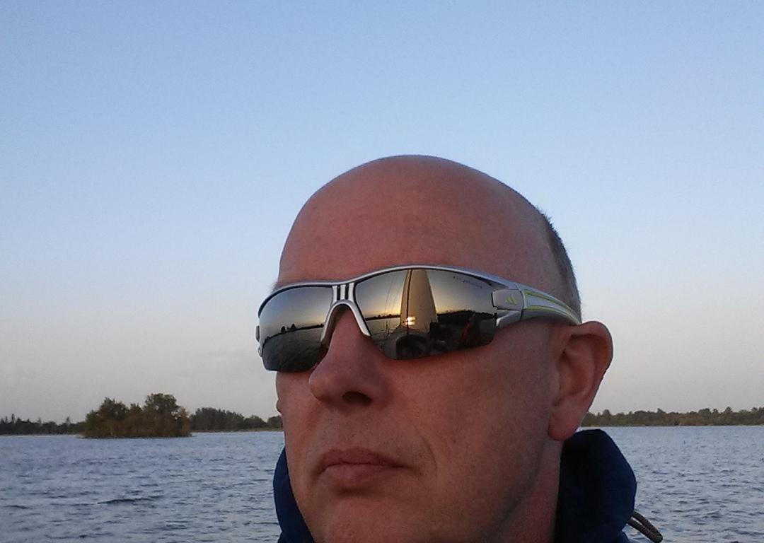 Sailfie van Geert at Reeuwijk