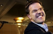 Mark Rutte looking like Suarez