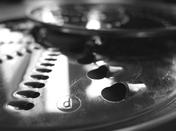 cees-black-white-photo-challenge-things-found-in-a-kitchen - kitchen-aid
