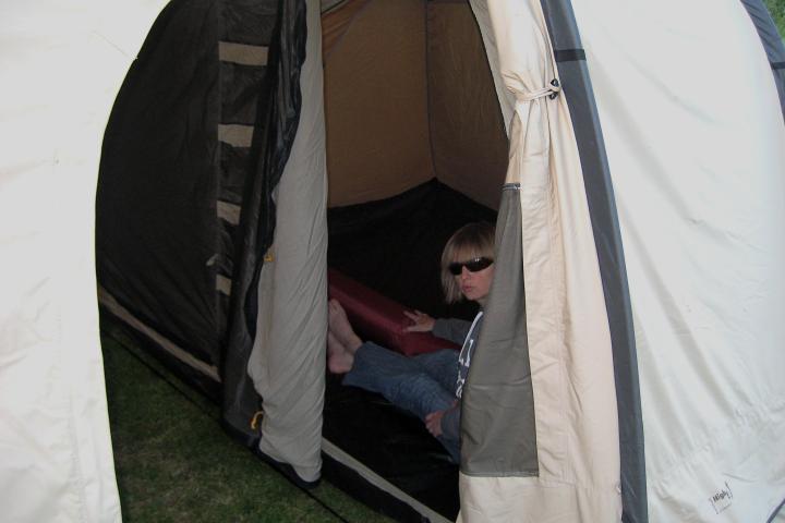 Thursday Doors Camping