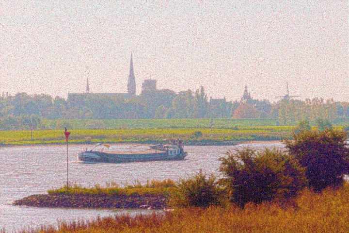 dutch river view #wordlesswednesday