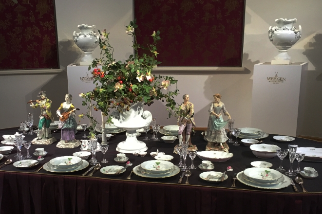 meissen table