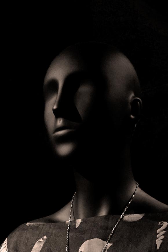 emotion in black