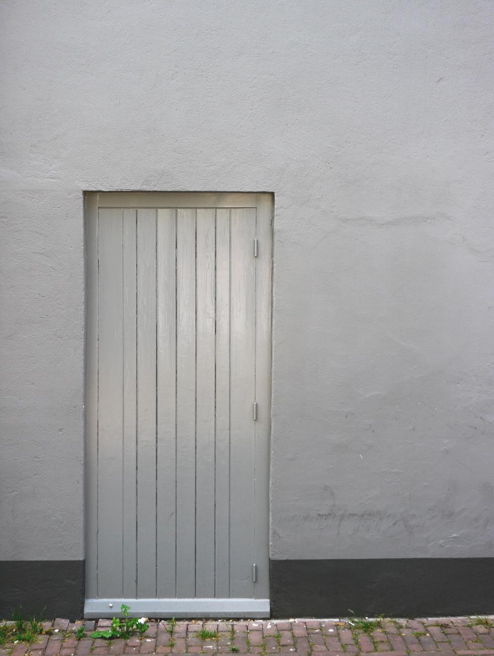Thursday doors silver door