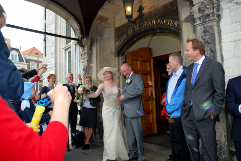thursday doors townhall gouda wedding