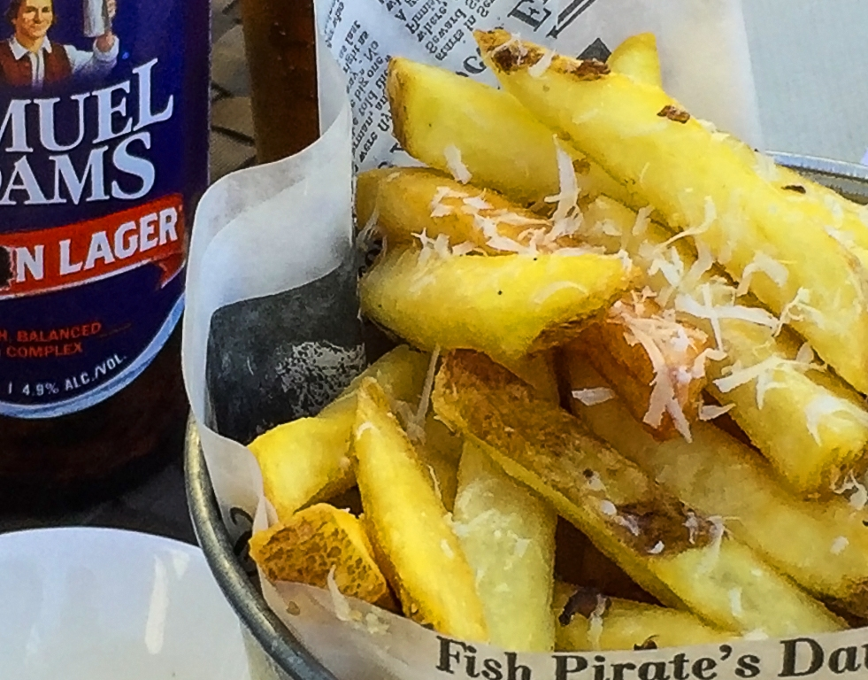weekly photo challenge chips and sam adams