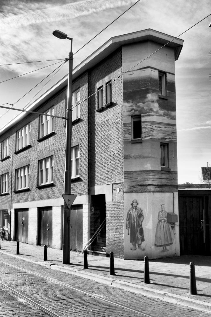 monochrome monday The Hague