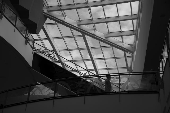 monochrome monday - Berlin Alexia
