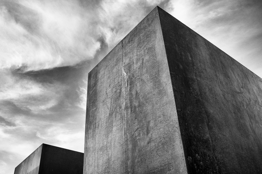 Monochrome Monday -  Holocaust Memorial Berlin