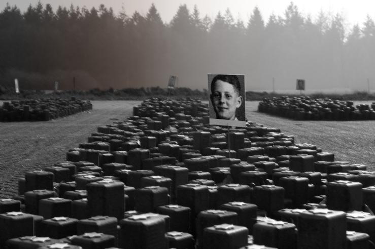 Kamp Westerbork - 102.000 stones